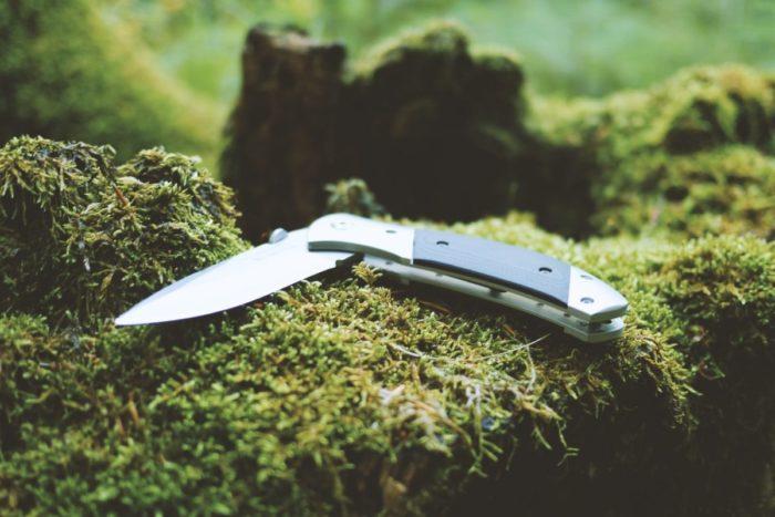 cuchillo para entrenar