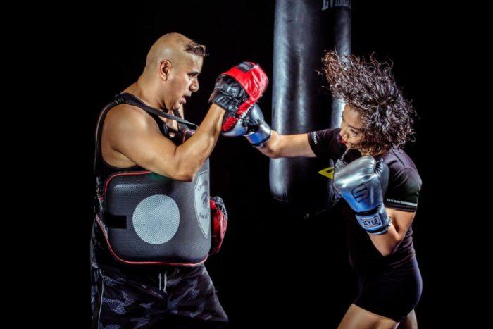 guantes de entrenamiento