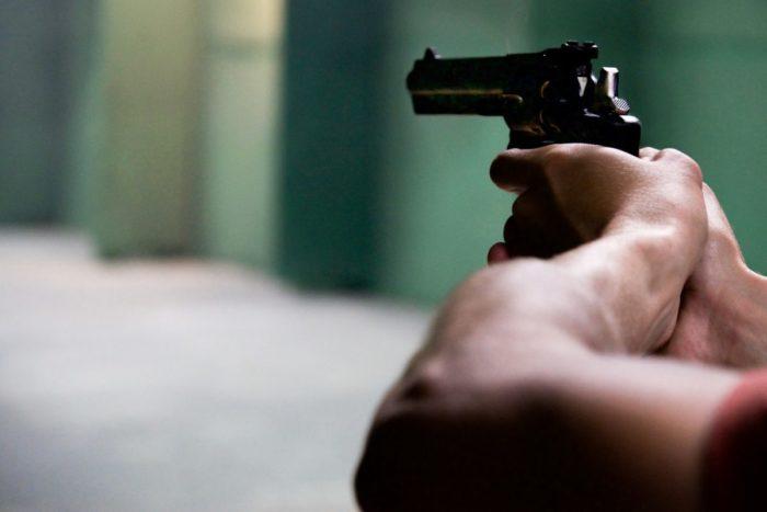pistola de entrenamiento
